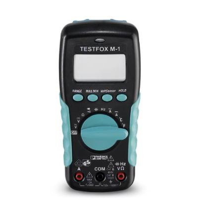 1212209 - TESTFOX M-1 - Multimeter