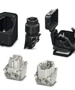 1407710 - Connector set - HC-EVO-B06PT-BWSC-HL-M20-PLRBK