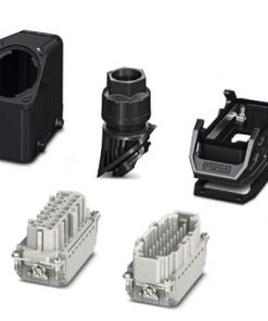 1407712 - Connector set - HC-EVO-B16PT-BWD-HH-M25-PLRBK