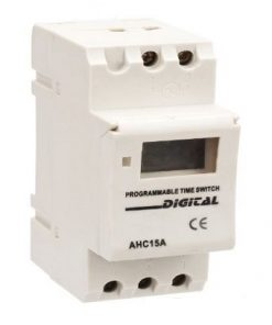 AHC15A - Electronic Programmable Timer Relay 250VAC  12A Weekly - Daily
