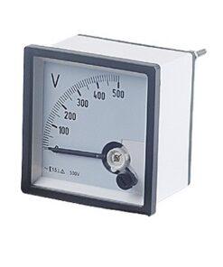 72x72 500V Analog Voltmeter Electrical Control Cabinets
