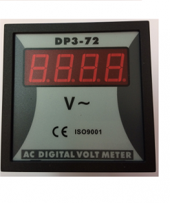 72x72 Digital Voltmeter Electrical Control Cabinets