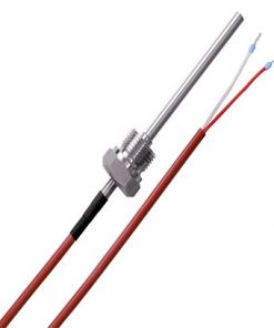 Screw-In Temperature Sensor with Silicone Cable