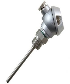 Screw-In Temperature Probe with Terminal Head Form J