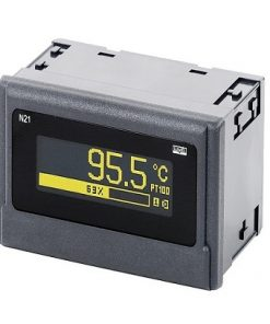N21 - Temperature and D.C. standard signals universal digital meter with OLED
