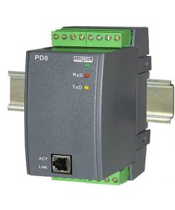 PD8 - Converter of RS485/ETHERNET interface
