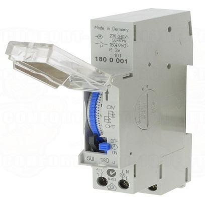 SUL180A - Timer Relay 250VAC  16A  24 HOURS
